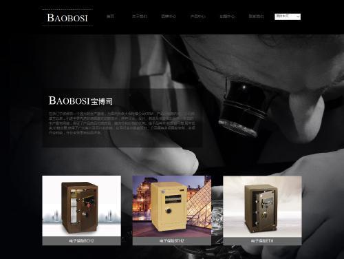 网站制作案例:BAOBOSI 宝博司-奇迪科技(深圳)有限公司
