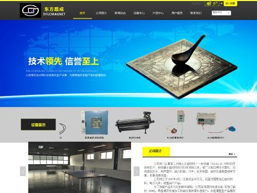北京东方路成科技有限公司网站建设案例展示
