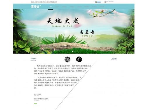 网站制作案例:高美谷生物技术有限公司-奇迪科技(深圳)有限公司
