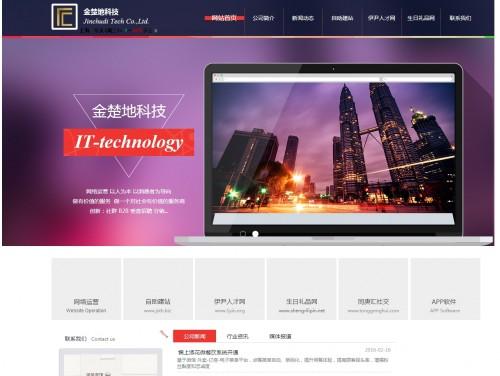 网站制作案例:金楚地科技-奇迪科技(深圳)有限公司