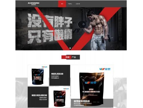 网站制作案例:康瑞科运动科技(北京)有限责任公司-奇迪科技(深圳)有限公司