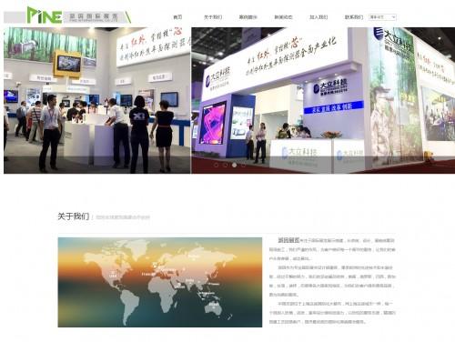 网站制作案例:派因国际展览-奇迪科技(深圳)有限公司