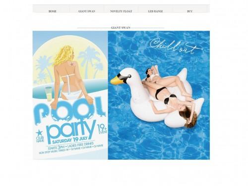 网站制作案例:poolparty-inflatable-奇迪科技(深圳)有限公司