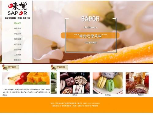 网站制作案例:味觉莱恩香精(天津)有限公司-奇迪科技(深圳)有限公司