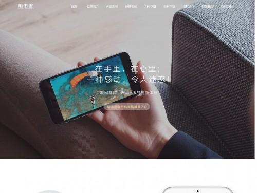网站制作案例:阻击兽-纳米防爆膜先驱-奇迪科技(深圳)有限公司