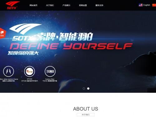 网站制作案例:索牌体育-奇迪科技(深圳)有限公司
