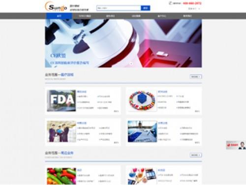 网站制作案例:上海沙格企业管理咨询有限公司-奇迪科技(深圳)有限公司
