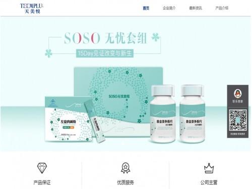 网站制作案例:天美悦-奇迪科技(深圳)有限公司