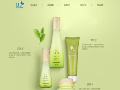 网站制作案例:L.I.D 中国官网-奇迪科技(深圳)有限公司
