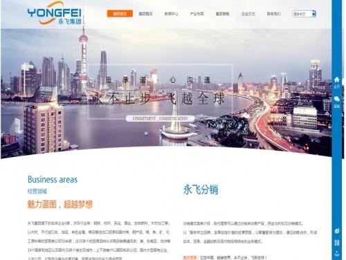 网站制作案例:永飞国际贸易集团-奇迪科技(深圳)有限公司