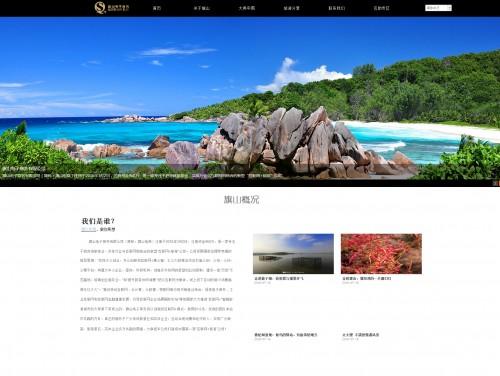 网站制作案例:旗山电子商务有限公司-奇迪科技(深圳)有限公司